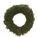 Wreath moss slim, D20, green-nature